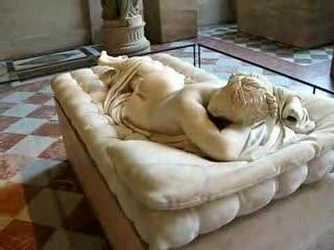 Hermaphrodite In The Louvre Museum, Paris video