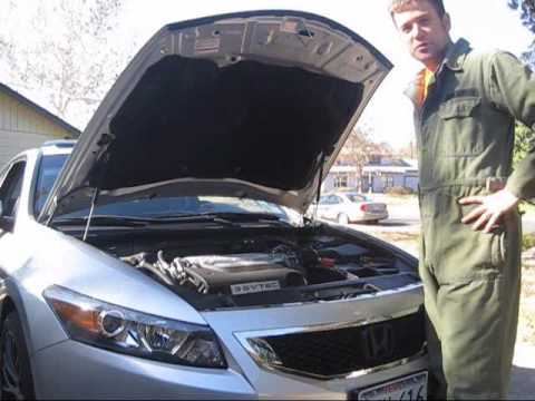 Oil Change On 2009 Honda Accord V6 Youtube