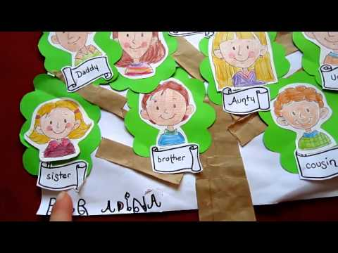 Grade 1 -Social studies - Family tree craft