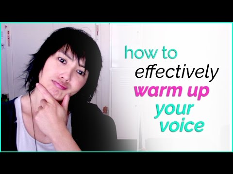 How to Sing 101 - Part 3 - How to effectively warm up your voice !