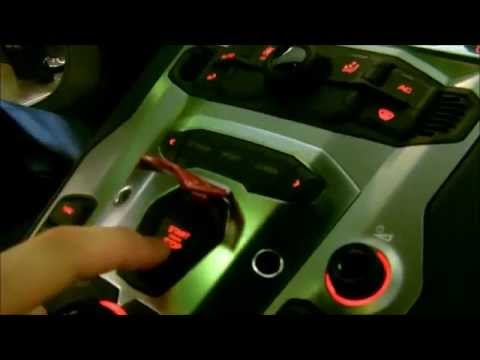 Inside the Lamborghini Aventador