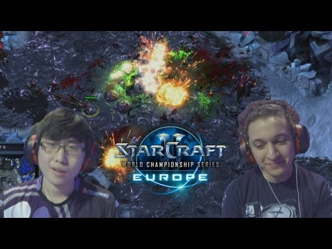 Super Friendly Fire Widow Mine Hits [WCS EU] Original commentary