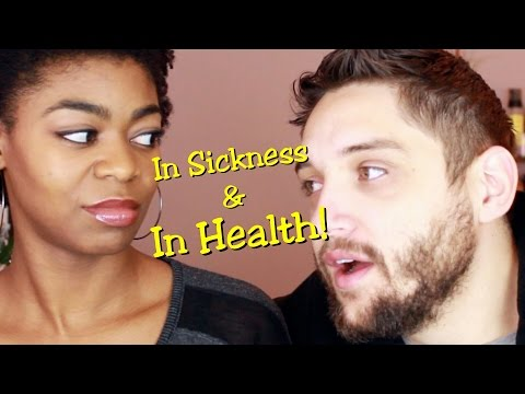 In Sickness & In Health! - Kriss & Ty Vlog Chat - NaturalMe4C- 4C Natural Hair