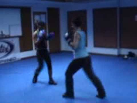 Women's Savate Sparring at Boxer Rebellion Gym Bangkok Image 1