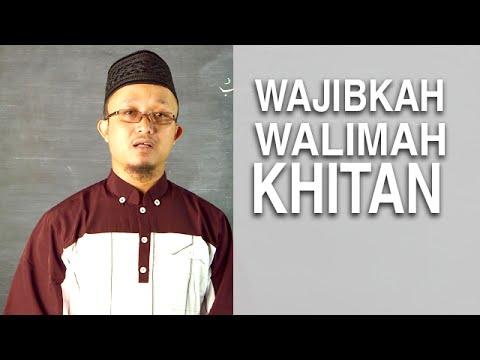 Serial Kajian Anak (38): Mendatangi Undangan Walimah Khitan - Ustadz Aris Munandar