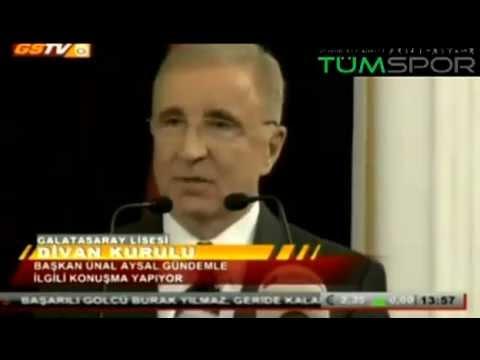 Ünal Aysal'dan Ümit Özat'a 'tır' göndermesi - Galatasaray Başkanı - Beyaz Futbol