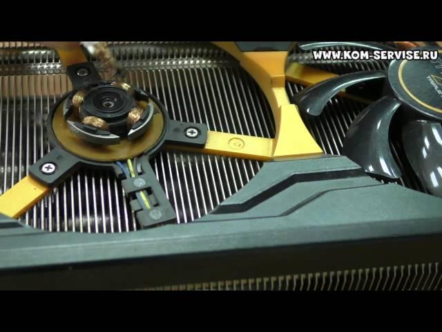 Ремонт кулера видеокарты своими руками