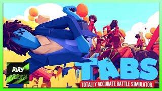 ЗЕВС Побеждён Totally Accurate Battle Simulator #10