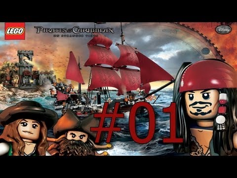 Let's Play Lego Pirates of the Caribbean (German Blind) #1 - Das Lego Abenteuer beginnt