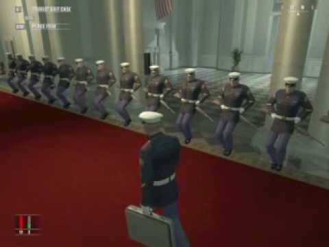 Dancing Marines in the White House - Hitman Blood Money