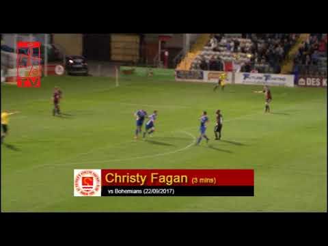 Goal: Christy Fagan (vs Bohemians 22/09/2017)