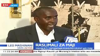 Raslimali za Maji: Mikakati yapangwa kuhusu ugavi wa maji katika kaunti tatu