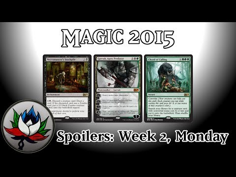 M15 Spoilers: Garruk Apex Predator Chord of Calling Chief Engineer...