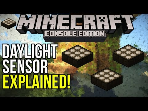 Minecraft Xbox & PS3: Daylight Sensors Explained!   COMING in TU14?