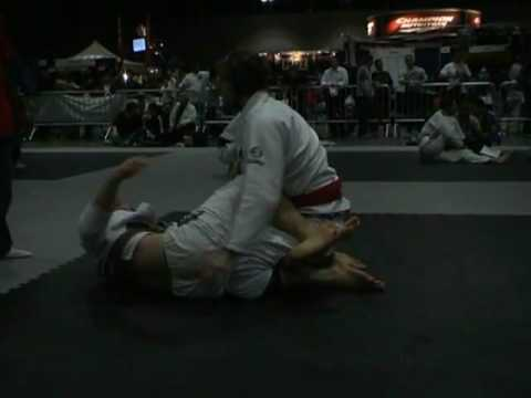 Jared Nathanson Gracie Nationals Brown Belt Fight One