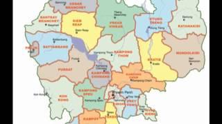 Cambodian Map (Khmer Empire)  ប្រវត្តិសាស្រ្តខ្មែរ
