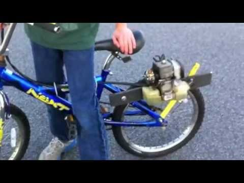 Leaf Blower Engine Bike Youtube