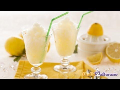 Lemon granita - Italian recipe - YouTube
