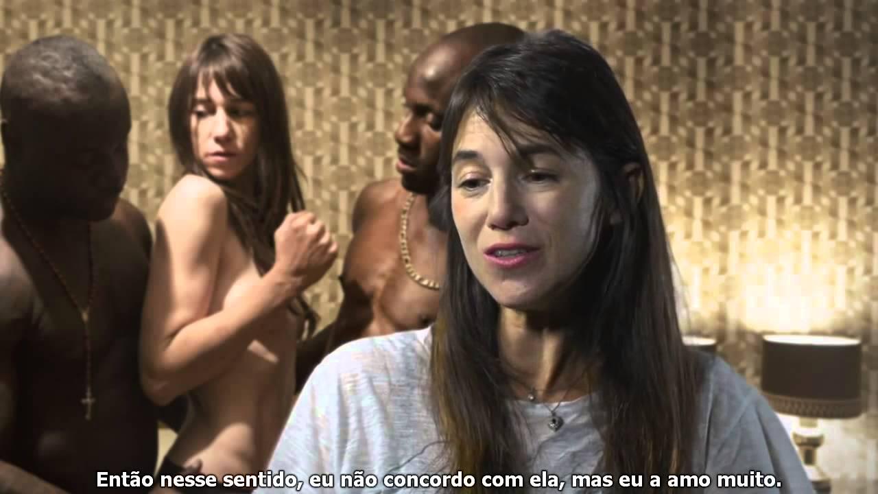 Entrevista Ninfomaníaca com Charlotte Gainsbourg legendado