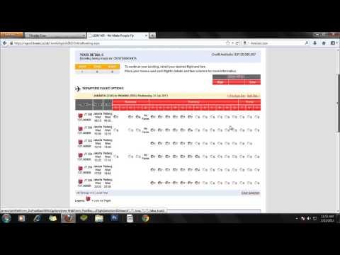 proses booking tiket maskapai Lion Air Bonita Tour