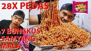 Download video TRAGIS!!! MUKBANG 7 PACKS SAMYANG MALA SUPER PEDAS | 28X LEBIH PEDAS