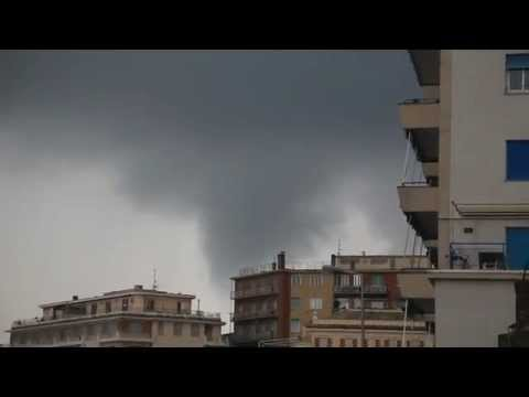 Tornadoes and major flooding in Italy!