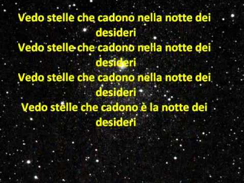 La notte dei desideri – Lorenzo Jovanotti Cherubini (con testo)