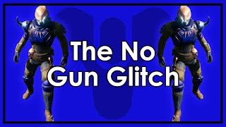 Destiny: How To Unequip Your Guns   The No Gun Glitch (DOES NOT WORK ANYMORE)