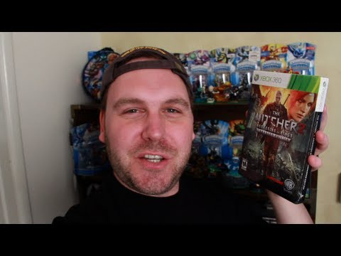 CoinOpTV - The Witcher 2 Enhanced Edition Unboxing