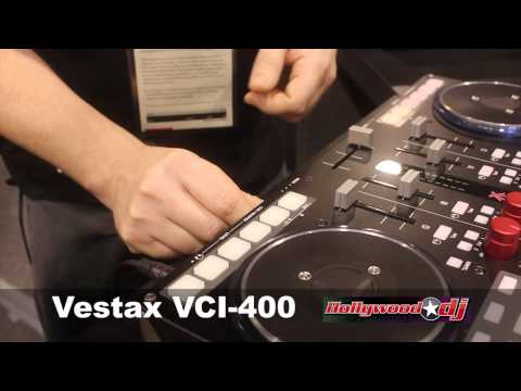 Vestax VCI-400 Namm Show 2012 Hollywood DJ New Product