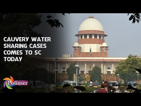 SC orders to enquire Cauvery Issue | Polimer News