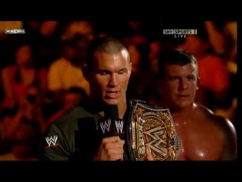 Triple H returns and attacks Randy Orton & Legacy
