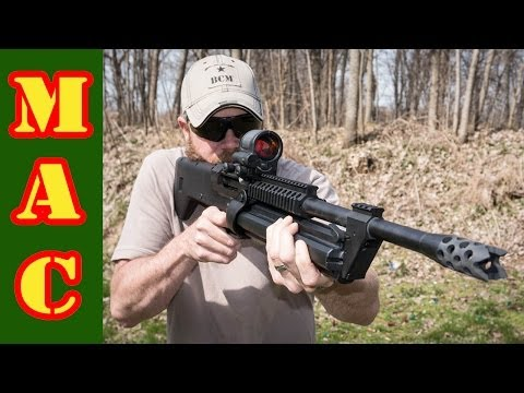 Range Day: SRM-1216. Tavor 9mm & Bullpup Unlimited 870