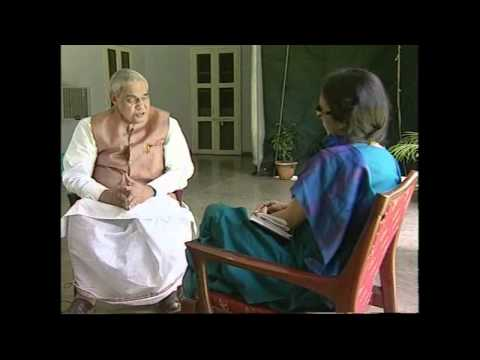 Atal Bihari Vajpayee  Interview by Tavleen Singh  Part -2