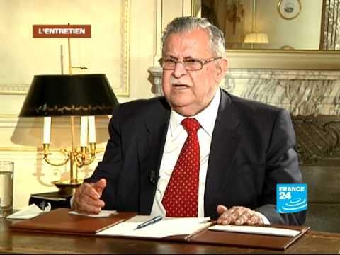 FRANCE 24 L'Entretien - Le président Jalal Talabani ne signera pas l'ordre d'exécution de Tarek Aziz