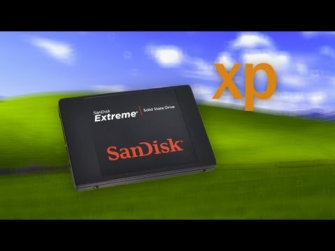 Installing Windows XP on a 10 year old PC with an SSD thumbnail