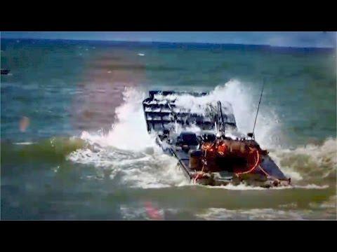 Experience a PLA Marine Corps' amphibious assault drill