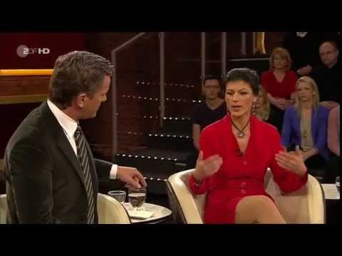 Das Streitgespräch: Sahra Wagenknecht vs. Markus Lanz und Jörges 16.01.2014 - Bananenrepublik