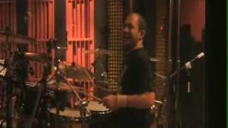 mor ve ötesi - recording drums for the new album (January 2010)