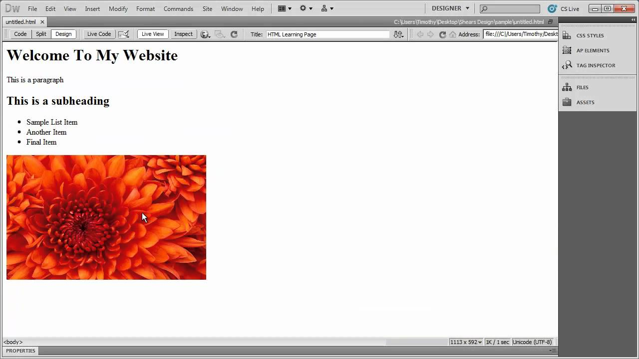 how to download video tutorials dreamweaver