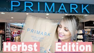 PRIMARK HAUL I HERBST EDITION