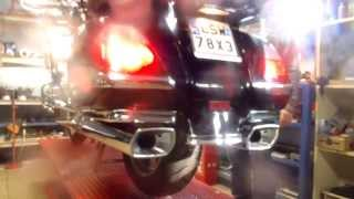 Honda Goldwing GL1800 Vance&Hines Monster exhaust (Darmot-Lublin Garage)