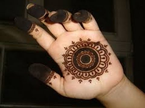 easy mehndi design for beginners