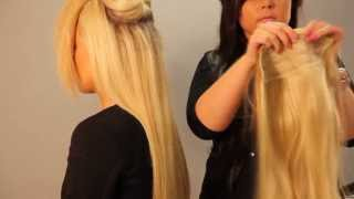 The X-Tra Long Clip in Hair Extension - Celebrities Favourite