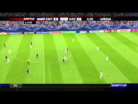 Argentina vs Serbia & Montenegro - World Cup 2006 - part 1/7 (full match)