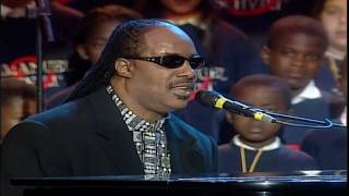 Luciano Pavarotti Video - Stevie Wonder, Luciano Pavarotti & All Stars - Peace Wanted Just To Be Free (LIVE) HD