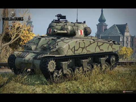 World of Tanks CZ, Sheraman Firefly, 8 killů