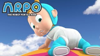 ARPO The Robot For All Kids - Flying Baby   Compilation   Cartoon for Kids
