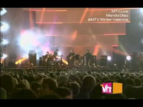 Mando Diao - Never Seen The Light Of Day [live @ Valencia 2009]