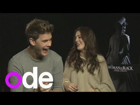 Jeremy Irvine talks about spooning Sam Claflin